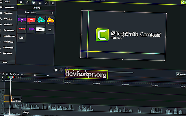 Software Camtasia Green Screen para Windows 10