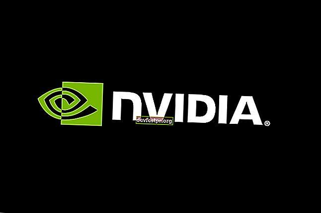 Nvidia Kontrol Panelinin Açılmamasını / Çalışmamasını / Yanıt Vermemesini Düzeltme