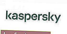 logotipo do site Kaspersky