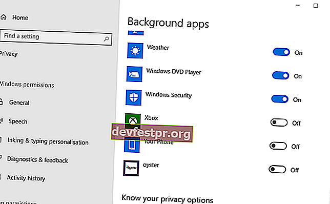 desligue o aplicativo Your Phone no Windows 10