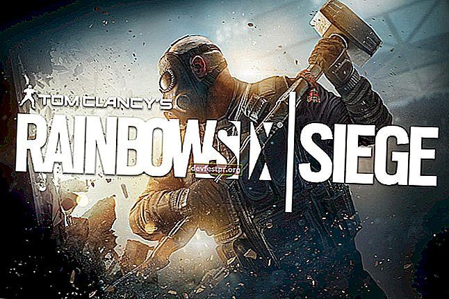 Rainbow Six: Kesalahan koneksi pengepungan