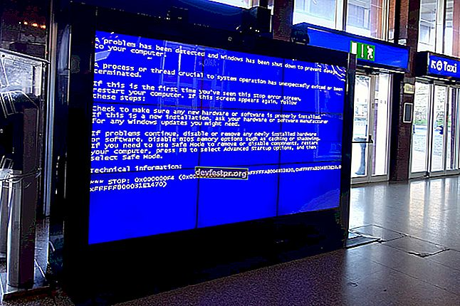 CORREÇÃO: DRIVER OVERRAN STACK BUFFER BSoD no Windows 10