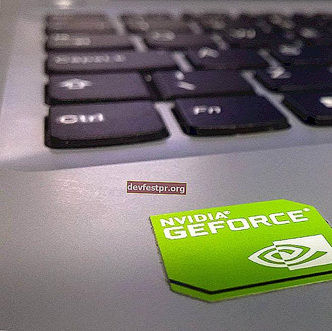 NVIDIA GeForce Experience código de erro 0x0001